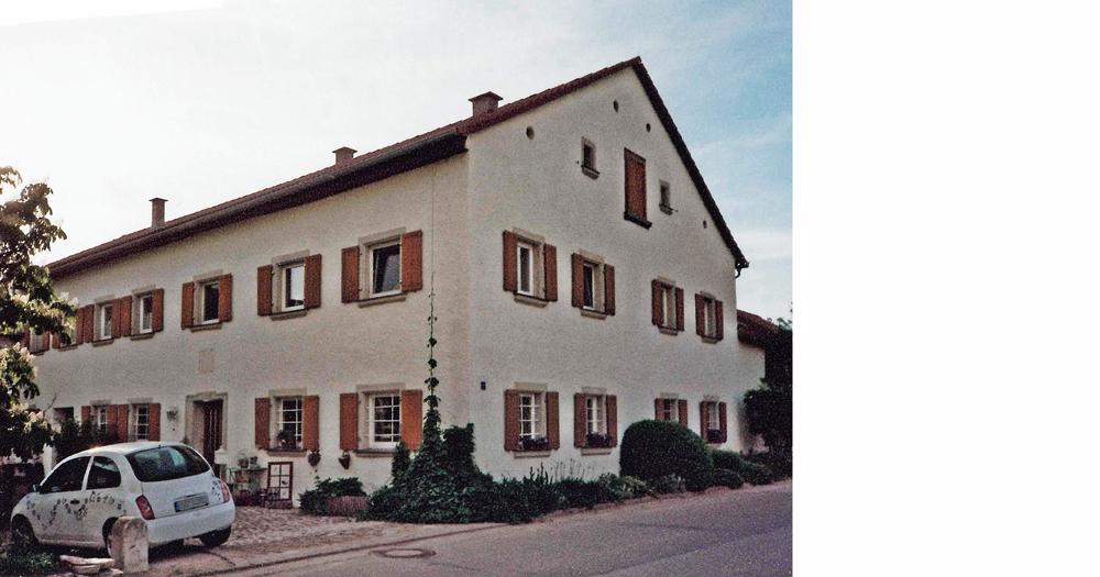 Jurahaus, Graben, Treuchtlingen